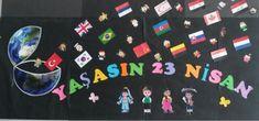 23 nisan Art Education, Preschool Activities, My Arts, Kids Rugs, Art Rules, Ideas, Bulletin Boards, Montessori, Back To School