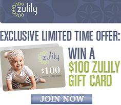 #Sorteo: Gana una tarjeta de regalo de $100 gracias a Zulily  http://www.superbaratisimogratis.com/sorteo-gana-una-tarjeta-de-regalo-de-100-gracias-a-zulily/#.VMLNtpyc76Y.twitter vía @Superbaratisimo