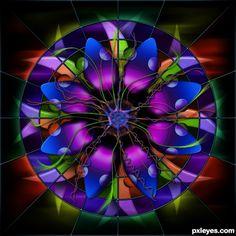 Mandala - A Sunburst of Vibrant Colors!