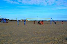 Beach volleyball! http://www.thesandsatlanticbeach.com