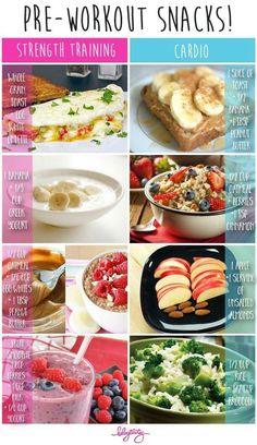 Pre-workout snacks - Blogilates