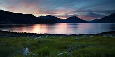 Lensblr: Alaskan Fjord at Sunset Haines Alaska at Sunset by...
