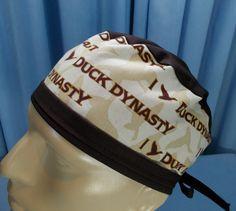 Duck Dynasty. Men's Scrub Hat / Short Hair Scrub Cap /  by HHoH, $15.00