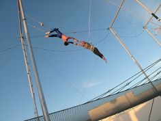 Flying Trapeze School in Santa Monica