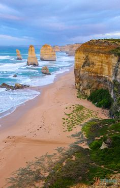 "12 Apostles, Great Ocean Road - click inside to learn about the ""Best of Australia"" in travel."