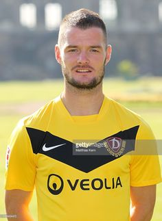 Marcel Heller poses during the SG Dynamo Dresden Team Presentation on July 7, 2011 in Dresden, Germany.