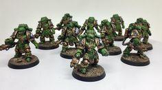 30k Salamanders Pyroclasts - MKA painting