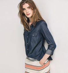 Jeanshemd für Damen