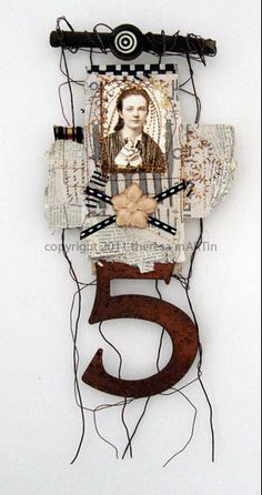 5 Mixed Media Collage