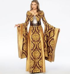McCall's 6940 edelvrouwen jurk