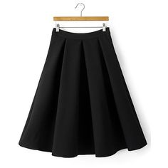Yoins Jacquard Pattern Pleated Skirt (1,780 INR) ❤ liked on Polyvore featuring skirts, black, yoins, pattern pleated skirt, knee length pleated skirt, clear skirts, pleated skirt and patterned skirts