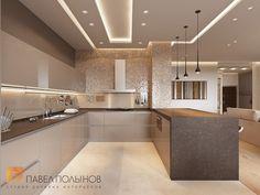 Фото дизайн интерьера кухни из проекта «Квартира в современном стиле в ЖК «Duderhof Club», 153 кв.м.»