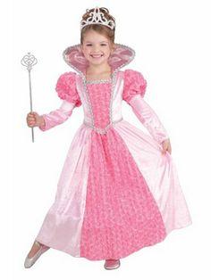Child Princess Rose Costume | Wholesale Princess Halloween Costume for Girls