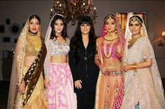 Bollywood Actresses in Designer Neeta Lulla Outfits.Neeta Lulla is a two-time National Award winner and a leading fashion designer and stylist in Bolly Bollywood Outfits, Bollywood Fashion, Bollywood Actress, Bollywood Style, Indian Dresses, Indian Outfits, 15 Dresses, Bridal Dresses, Princess Hair Bows