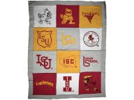 Buy Vesi Tee Blanket Bed & Bath Novelties and other Iowa State Cyclones products at CysLockerRoom.com
