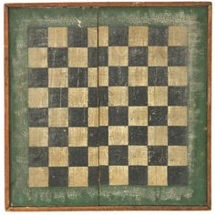 Checkers anyone?   A checker board in a prim grouping is a must!
