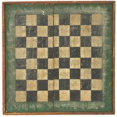 Early Checker Board