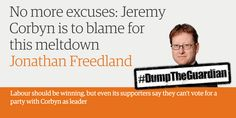 The Guardian has spent the last 2 years relentlessly attacking Jeremy Corbyn. Here are some highlights. Dump the Guardian!