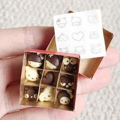 Happy Valentine's Day! I made a box of Sanrio themed chocolates. A tutorial is up on my YouTube as well by polymomotea