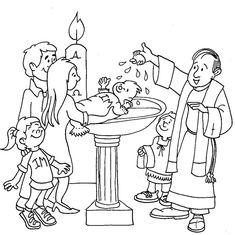 Baptism Of Jesus Coloring Page . Baptism Of Jesus Coloring Page . Baptism Of Jesus Jesus Coloring Pages, Printable Coloring Pages, Coloring Pages For Kids, Coloring Books, Coloring Sheets, Seven Sacraments, Catholic Sacraments, Baptism Craft, Baby Baptism