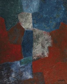 'Composition abstraite' (ca.1964) by Serge Poliakoff