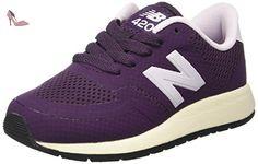 New Balance 696v3, Chaussures de Tennis Femme, Multicolore (White/Pink), 37.5 EU