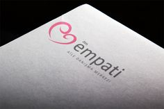 Logo design for a mind-health clinic. We tried to symbolize a heart with two ''e'' letters.