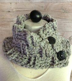 Basket Weave Stitch Cowl Neck Warmer – Free Crochet Pattern by Maggie Weldon