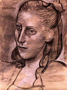 Pablo Picasso - Woman's Head (Dora Maar), 1943
