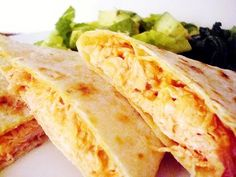 Quesadillas de Pollo y Queso