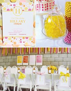 You Are My Sunshine Birthday Party    by Jenny of Bloom Designs Online, via Hostess with the Mostess