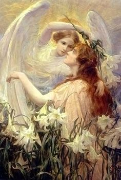 This Healing Angel has come to pour the blessing of health, love, happiness and joy upon you.