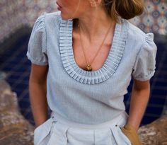 beautiful little blouse by EmersonMade