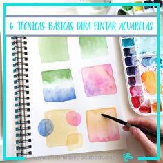Watercolor Art Lessons, Watercolor Pencils, Watercolor Paper, Floral Watercolor, Watercolor Paintings, Watercolor Fashion, Watercolors, Relaxing Art, Pin On