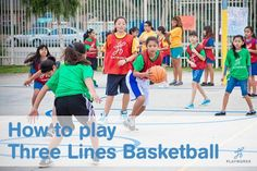Game of the Week: Three Lines Basketball | Playworks