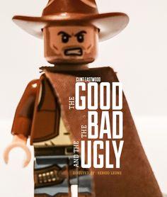 Lego Film, Lego Tv, Lego Movie, Lego People, Lego Worlds, Lego Photography, Cartoon Crossovers, No Name, Clint Eastwood