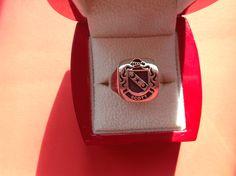 Scott engraved family crest ring