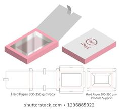 Find Box Packaging Die Cut Template Design stock images in HD and millions of other royalty-free stock photos, illustrations and vectors in the Shutterstock collection. Gift Box Packaging, Beauty Packaging, Packaging Design, Diy Gift Box, Diy Box, Paper Toys, Paper Crafts, Paper Box Template, Creative Box