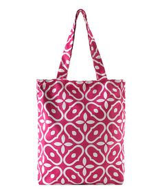Take a look at this Berry Letitia Utility Tote by Shiraleah on #zulily today!