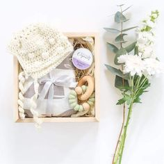 HOOKED IN A BOX :: Little Baby Gift Box