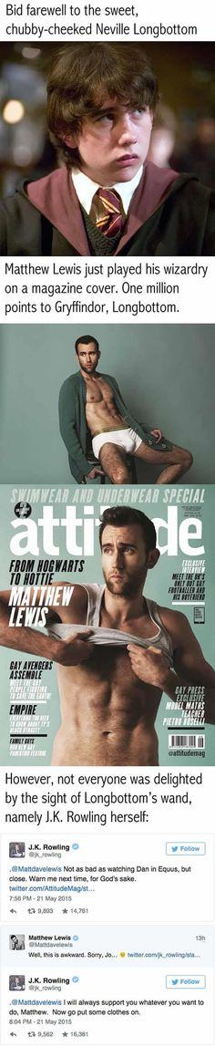 Funny pictures about Transformation Goals: Neville Longbottom. Oh, and cool pics about Transformation Goals: Neville Longbottom. Also, Transformation Goals: Neville Longbottom photos. Harry Potter Cast, Harry Potter Fandom, Harry Potter World, Harry Potter Memes, Matthew Lewis, Hermione, Draco, No Muggles, Neville Longbottom