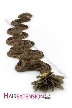 "16"" #10 Body Wave Nail Tip Human Hair Extensions [NRHBWH1610]"