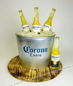 corona cake By designcakes on CakeCentral.com