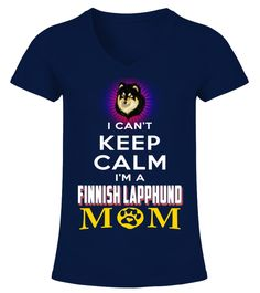 "# Keep Calm I'm A Finnish Lapphund Mom .  HOW TO ORDER:1. Select the style and color you want2. Click ""Buy it now""3. Select size and quantity4. Enter shipping and billing information5. Done! Simple as that!TIPS: Buy 2 or more to save shipping cost!This is printable if you purchase only one piece. so don't worry, you will get yours.Guaranteed safe and secure checkout via: Paypal 