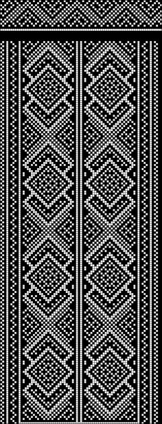 View album on Yandex. Weaving Patterns, Craft Patterns, Cross Stitch Borders, Cross Stitch Patterns, Knitting Charts, Knitting Patterns, Cross Stitch Embroidery, Embroidery Patterns, Pixel Pattern
