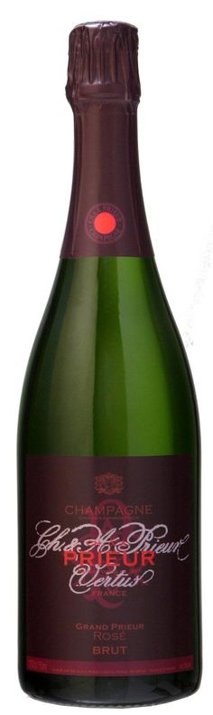 LIGHTNING DEAL Champagne Ch. & A. Prieur Grand Rose Non Vintage 75cl NOW £26.17