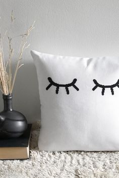Design your own cross stitch embroidery pattern Cross Stitching, Cross Stitch Embroidery, Embroidery For Beginners, Cross Stitch Designs, Tool Design, Interior Design Inspiration, Bedtime, Create Yourself, Pillow Covers