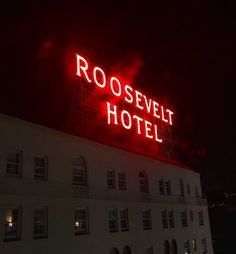Pin for Later: Book a Room at These Creepy, Haunted Hotels — If You Dare Roosevelt Hotel, Hollywood
