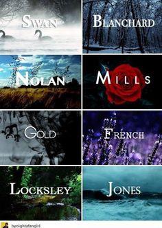 Swan. Blanchard. Nolan. Mills. Gold. French. Locksley. Jones