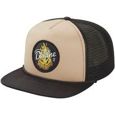 DAKINE Campfire Trucker Hat (13 CAD) ❤ liked on Polyvore featuring accessories, hats, dakine hat, dakine, truck caps and trucker hat
